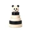 Houten Stapeltoren Pandabeer
