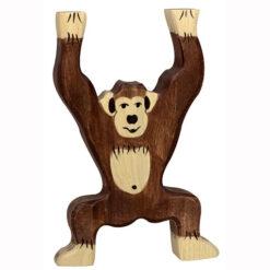 Holztiger Chimpansee Houten Speelgoed