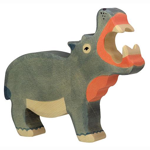 Holztiger Houten Speelgoed Nijlpaard