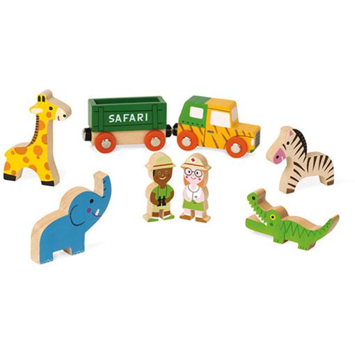 Houten Story Box Mini Safari