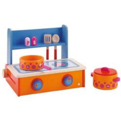 Houten kinderkeuken tafelformaat
