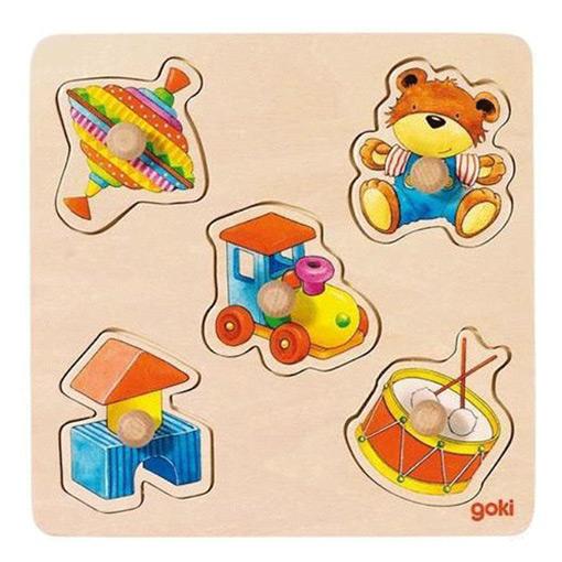 Goki Houten Legpuzzel Speelgoed