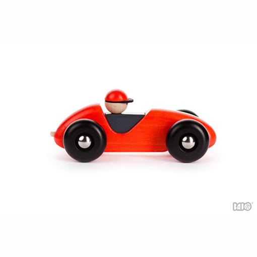 Bajo Houten Rode Raceauto