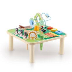 Multifunctionele activiteiten tafel met castagnetten en xylofoon (2)