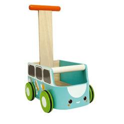 Plan Toys Van Walker Loopkar Blauw