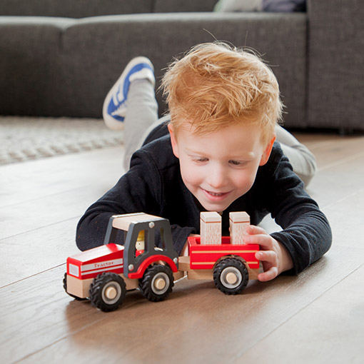 sfeerfoto new classic toys rode tractor
