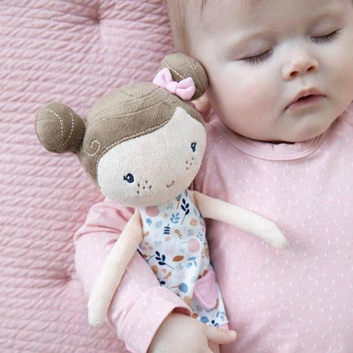 Little Dutch Rosa Baby knuffel pop