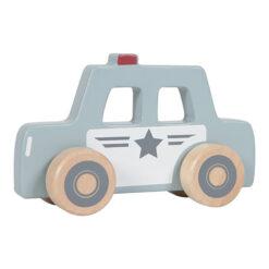 Houten Politie Auto Little Dutch
