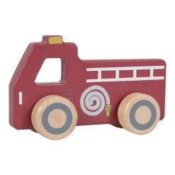 Little Dutch Houten Speelgoed Brandweer Auto