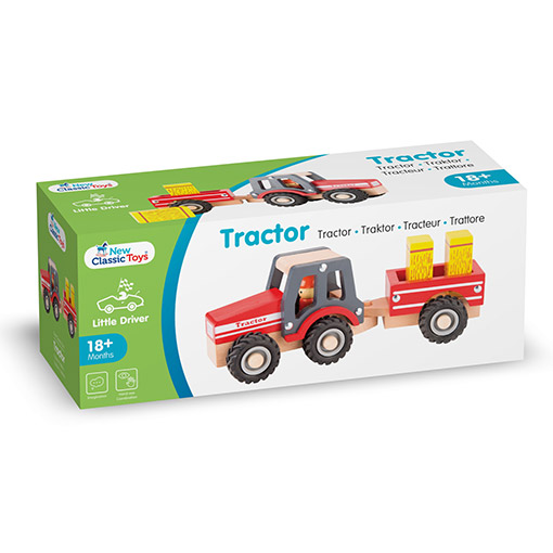 New Classic Toy Tractor