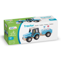 New Classic Toys Tractor Blauw
