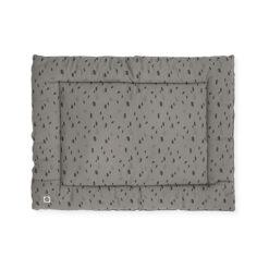 Grijs Boxkleed met Zwarte Stippen 80 x 100 cm