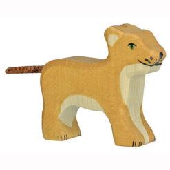 Holztiger Leeuwen Welp Staand