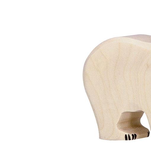 Achterkant van de ijsbeer baby