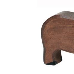 Holztiger Everzwijn: snuit naar beneden