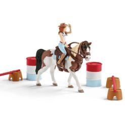 Horse Club Hannahs Western Rijset Schleich 42441