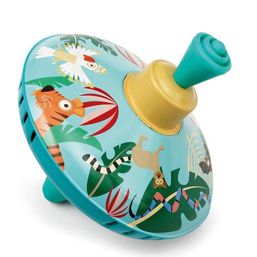 Jungle Dieren Speelgoed Druk Tol
