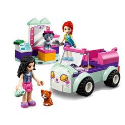 Kattenverzorgingswagen van Lego Friends
