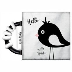 Knisperboekje met Rammelaar Hello Baby