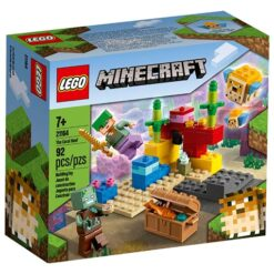 Koraalrif Lego van Minecraft 21164