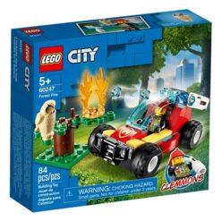 Lego City Brandweer Bosbrand Set 60247