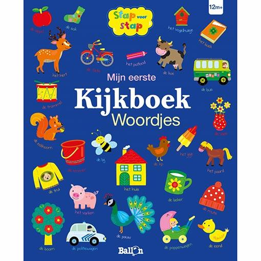 Mijn eerste Kijkboek Woordjes