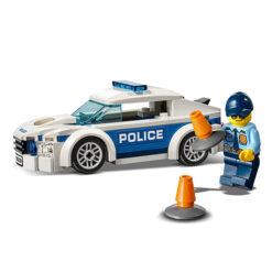 Politie Speelgoed Auto met Afneembaar dak