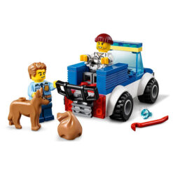 Politieagens en Hond vangen Boef Lego