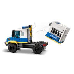 Politiebus van Lego