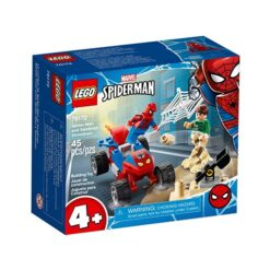 Spiderman en Sandman Duel Lego Set 76172
