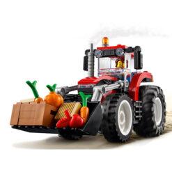 Tractor met Kantelbare Laadschop Lego