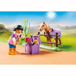 Verzamelpony IJslander van Playmobil
