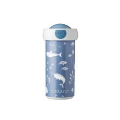 School Drink Beker met een Walvis Little Dutch Mepal