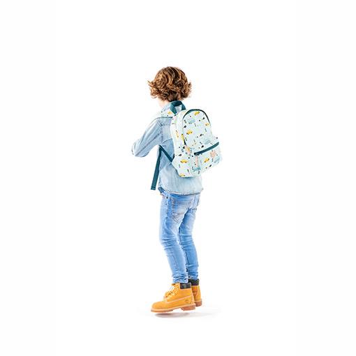 Kidzroom Schooltas Mini Blauw