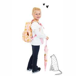 Stoere Roze Tas voor School