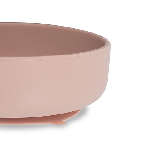 Roze Kinderservies Schaal met een Zuignap 8717329361027