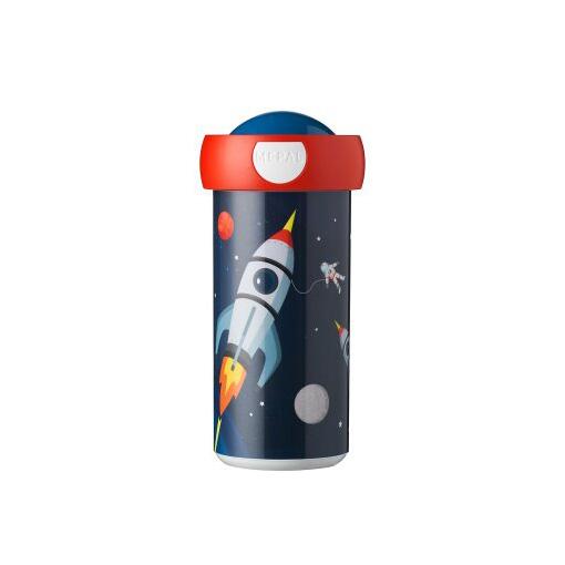 Schoolbeker Space Ruimteschip Draaidop Drinkbeker Mepal